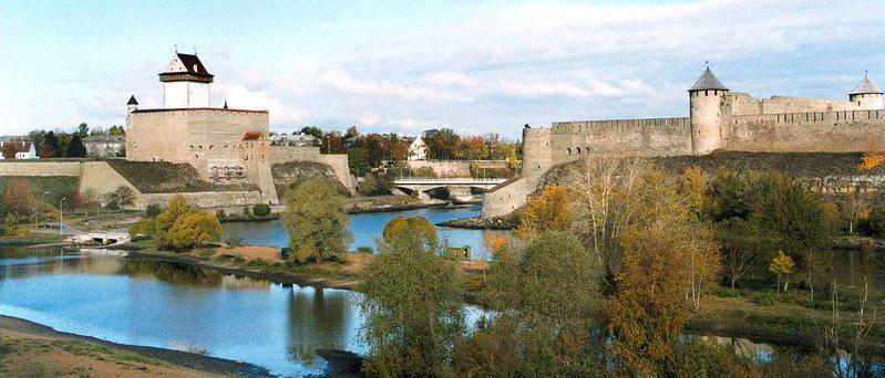 ивангородская крепость фото